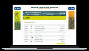 Plateforme d'inscriptions en ligne